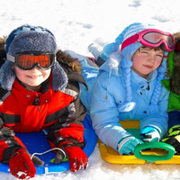 Çocukların Kayak Sevinci Xanadu Snow White'ta