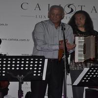 Gheorghe Zamfir Calista Luxury Resort'te